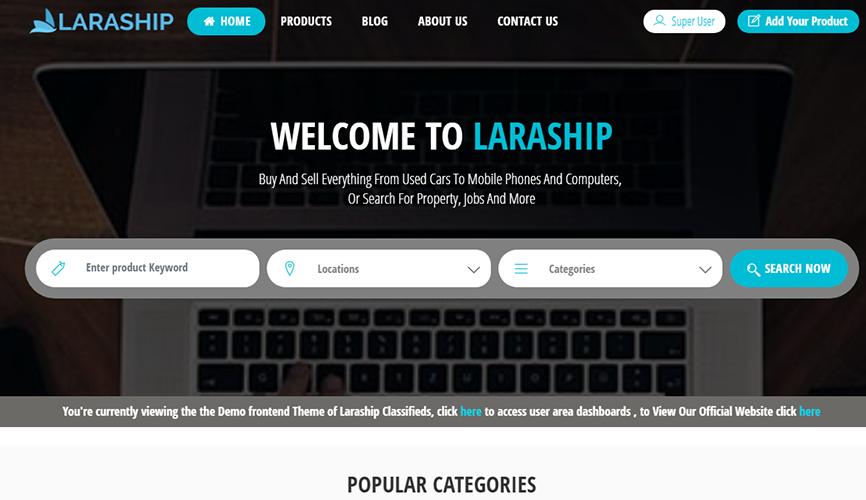 Laraship Classified